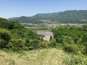 名胡桃城からの眺め