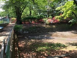 沼田城の本丸堀