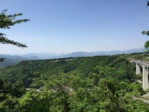 長井坂城からの展望