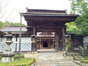 蓮華定院の門
