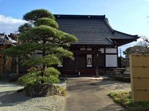 当信寺の本堂