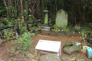 サナダサエモン様の墓