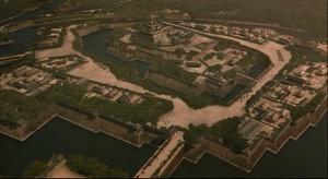 大阪城の総構えイメージ